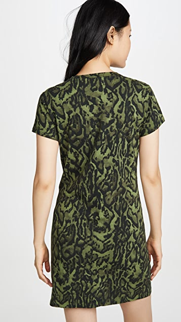 Pam & Gela Ocelot T 恤式连衣裙