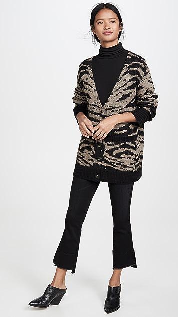 Pam & Gela Mohair Tiger Cardigan