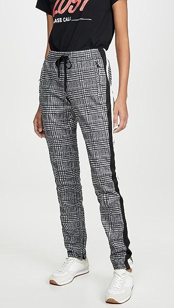 Pam & Gela Tartan Cigarette Pants