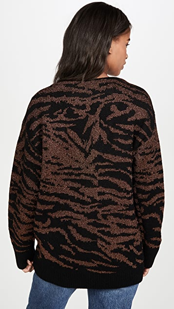 Pam & Gela Tiger 开襟衫