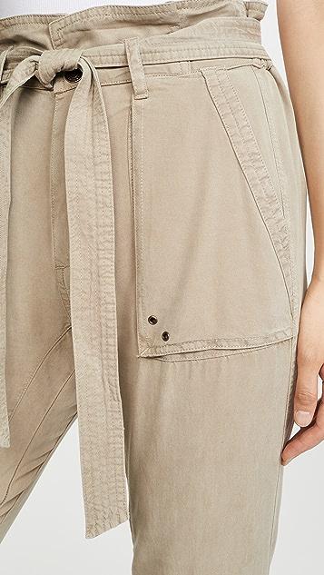 Pam & Gela Pants With Folded Waist