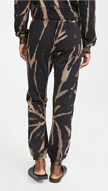 Pam & Gela 暗色漂白运动裤