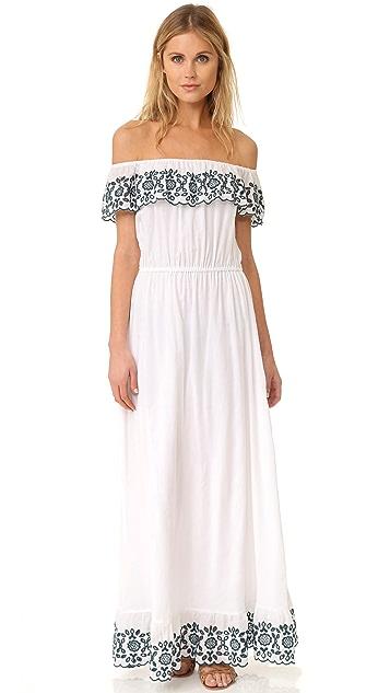 PAMPELONE Loren Maxi Dress
