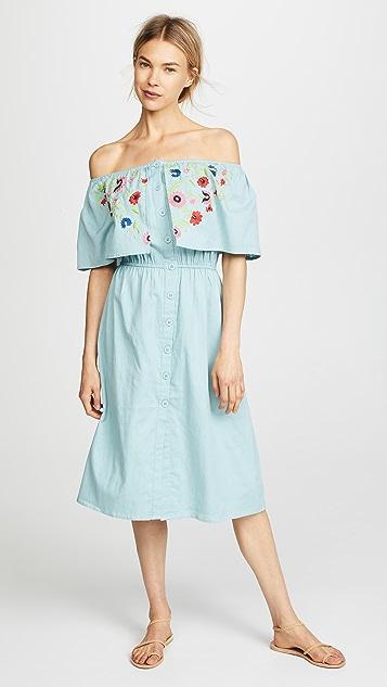 PAMPELONE Maddalena Midi Dress