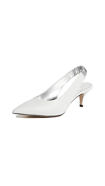 Paul Andrew Carpanthian 55 Slingback Pumps