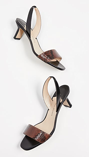 Paul Andrew Longo Slingback Sandals