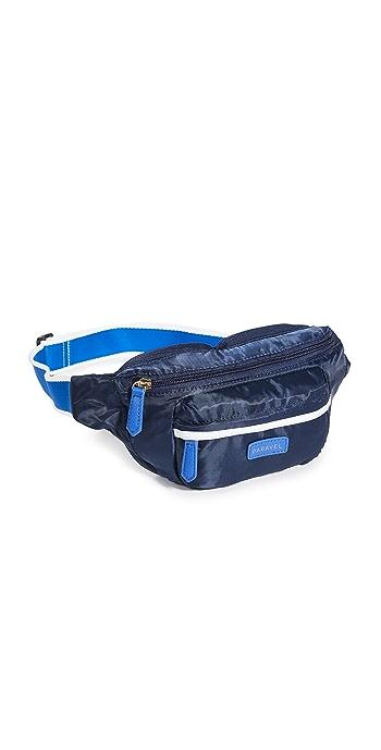 Paravel Fold-Up Belt Bag - Scuba Navy