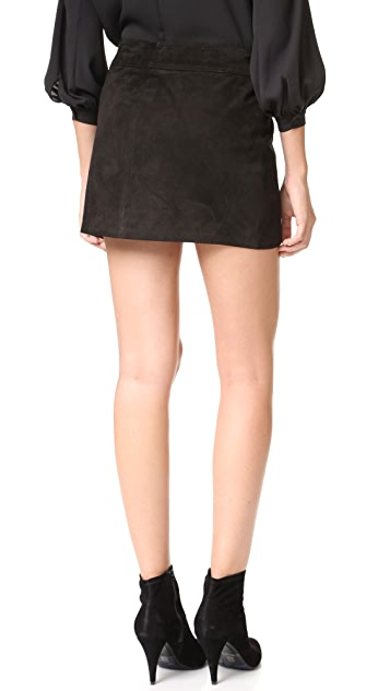 Parker Monica Suede Skirt