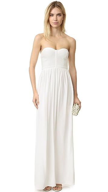 Parker Parker Black Bayou Silk Gown