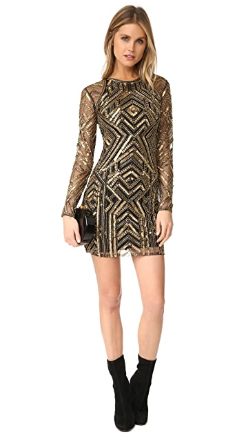 Parker Parker Black Isabelle Dress