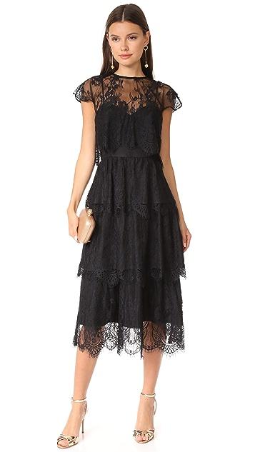 Parker Parker Black Elsa Dress