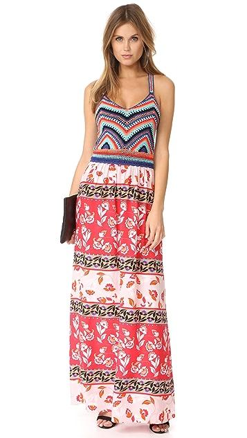 Parker Goldie Knit Combo Dress