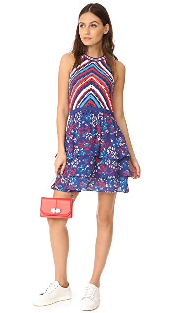 Parker Waverly Knit Combo Dress