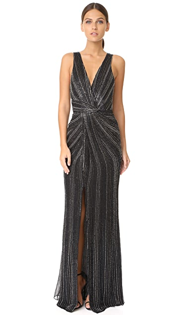 bd35ce74e51 Parker Parker Black Monarch Gown ...