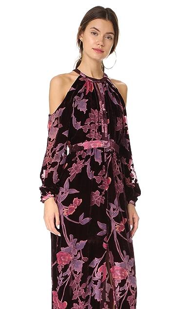 Parker Parker Black Casa Maxi Dress