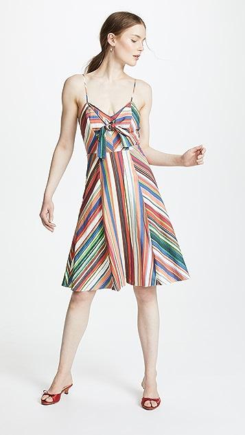 Parker Rosemary Dress - Amalfi Stripe