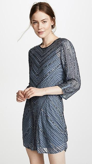 Parker Parker Black Tetra Dress