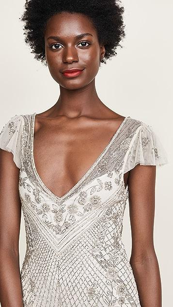 Parker Parker Black Conzuelo Dress