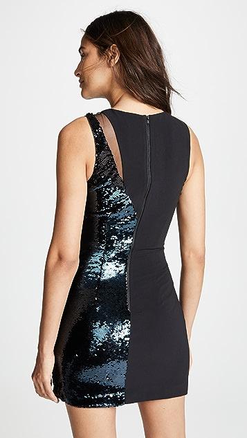 Parker Parker Black Albany Combo Dress