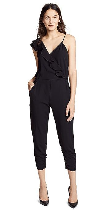 Parker Addison Combo Jumpsuit - Black