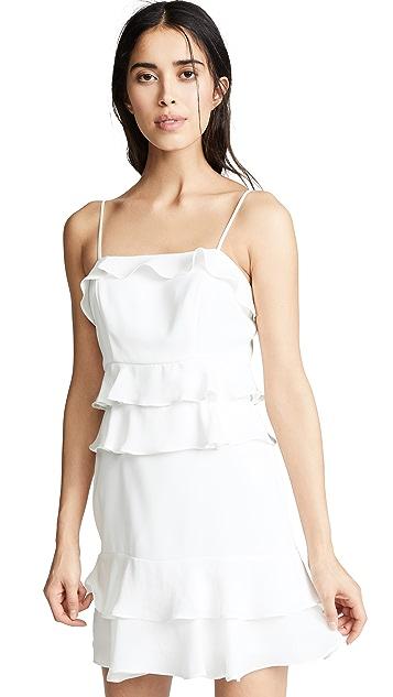 Parker Комбинированное платье Kristie