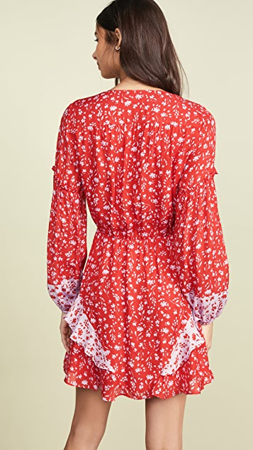 Parker Shona Combo Dress
