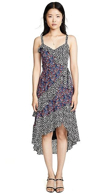 Parker Комбинированное платье Kathy