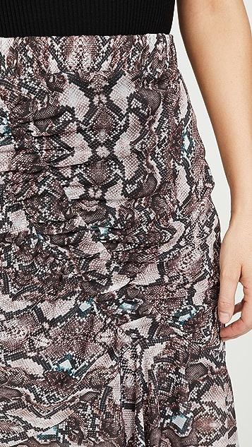 Parker Saffron 半身裙