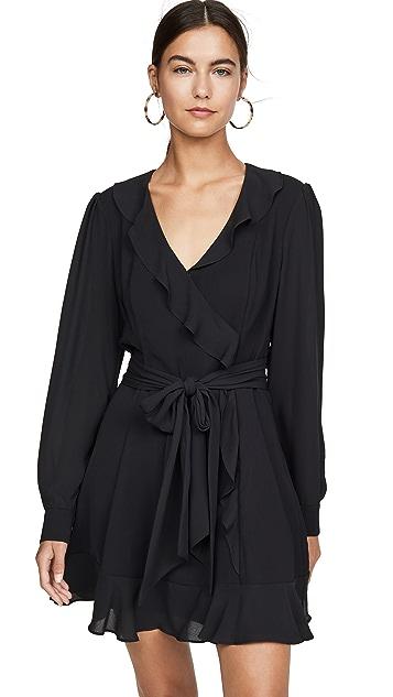 Parker Комбинированное платье Cadance
