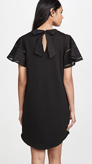 Parker Комбинированное платье Katrina