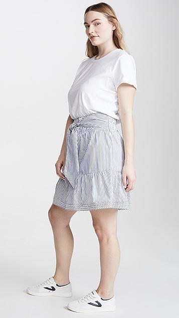 Parker Fleur 拼接连衣裙