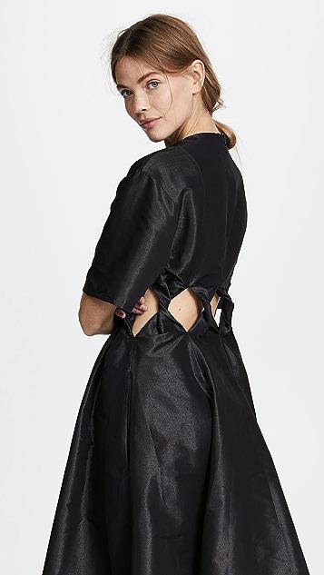 Paskal Twist Cutout Short Sleeve Dress
