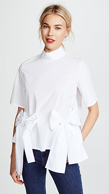 Paskal Short Sleeve Shirt with Bows