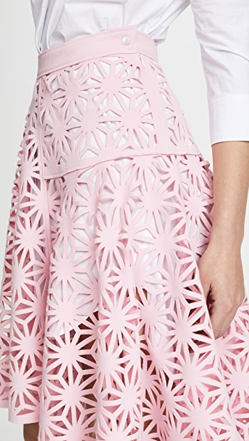 Paskal Laser Cut Skirt