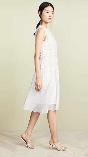 Paskal Sleeveless Polka Dot Dress