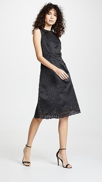Paskal Laser Cut Sleeveless Dress