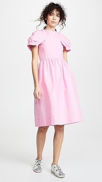 Paskal Fit & Flare Petal Sleeve Dress