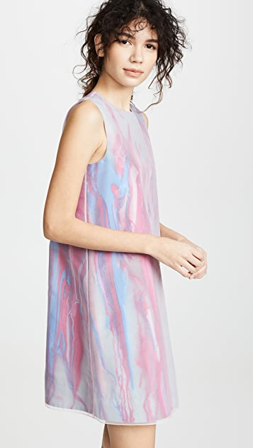 Paskal Sleeveless Watercolor Dress