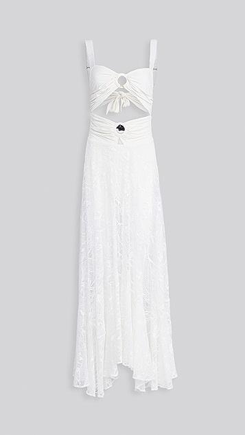 PatBO 蕾丝海滩连衣裙