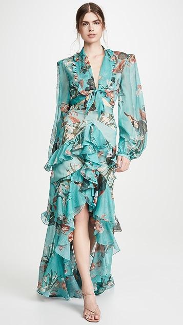PatBO Carolina 高低不对称半身裙