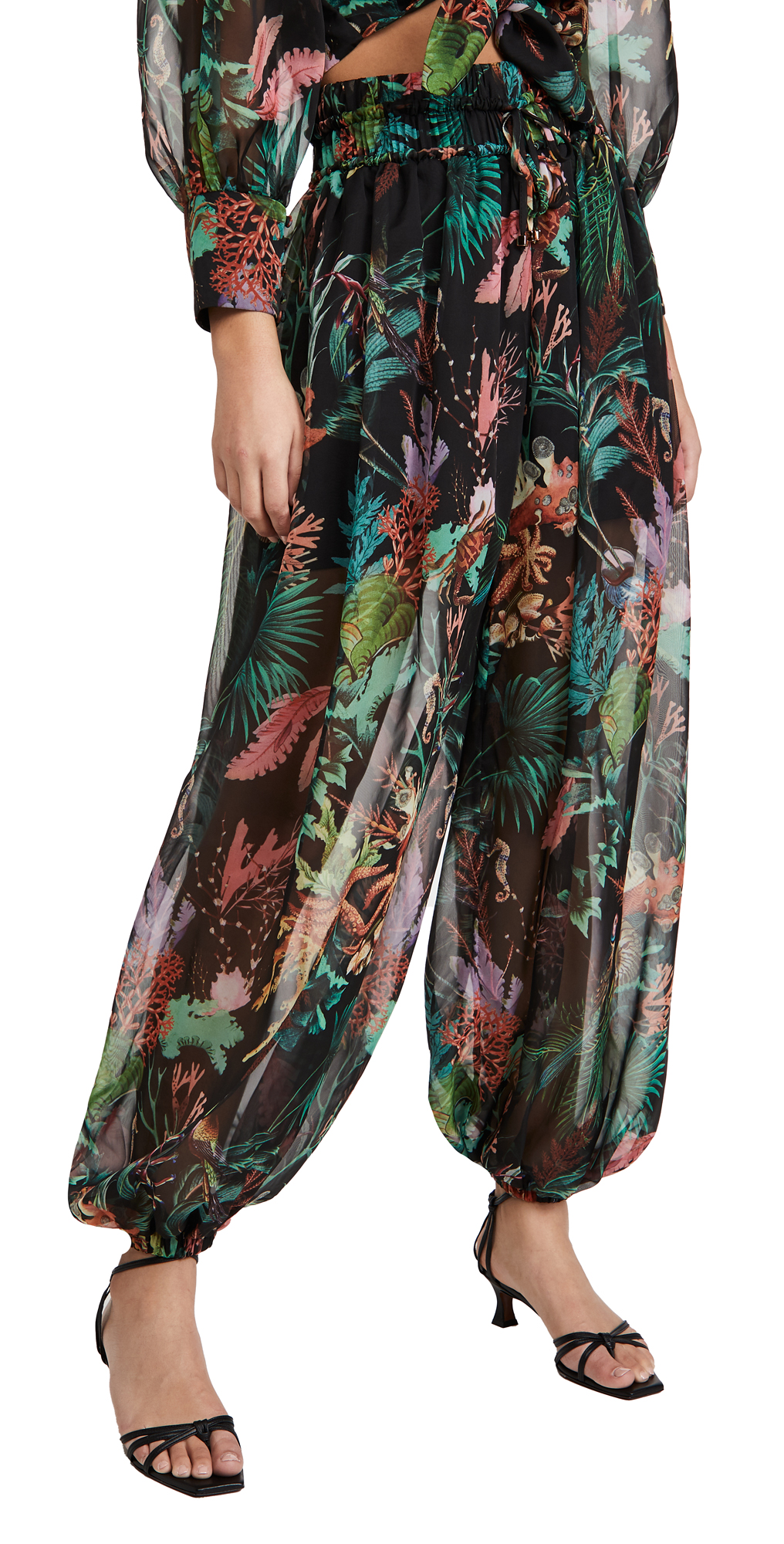PatBO Oasis Voluminous Beach Pants