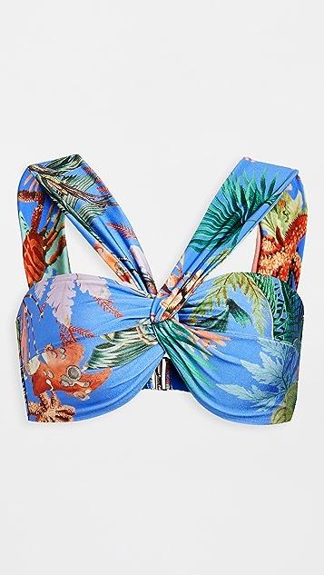 PatBO Oasis Bikini Top