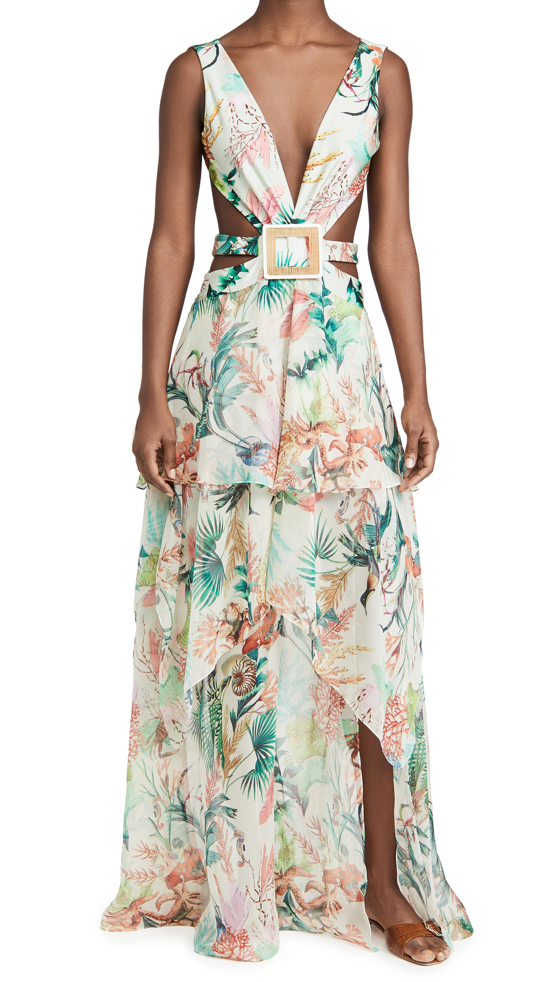 PatBO Oasis Cutout Dress