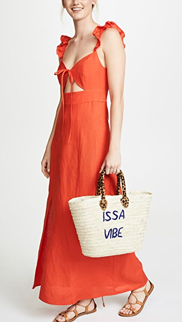 Poolside Bags Le Superette Issa Vibe Tote Bag