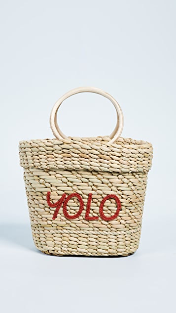 The Mac Yolo Tote Bag by Poolside Bags