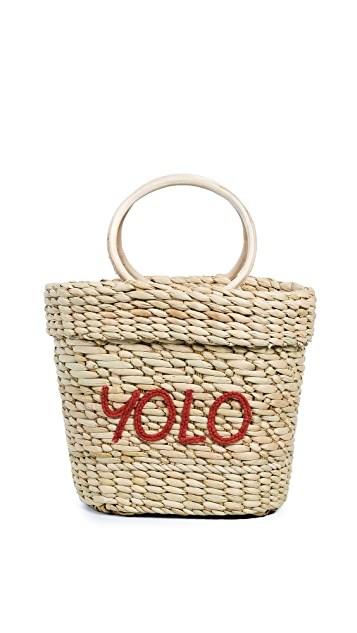Poolside Bags The Mac Yolo Tote Bag