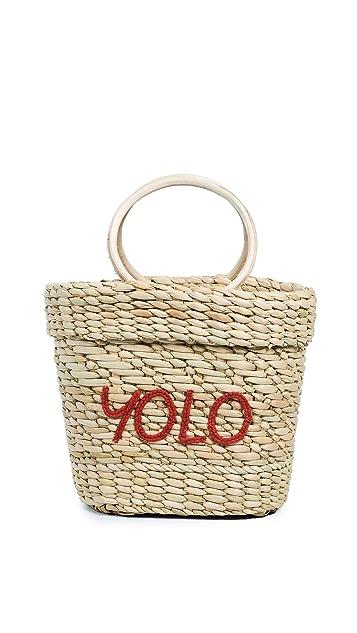 Poolside Bags The Mac Yolo Tote Bag
