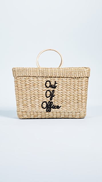 Poolside Bags The Lizzy Out of Office Tote Bag