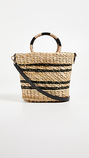 The Mak Stripe Tote Bag by Poolside Bags