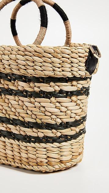 Poolside Bags The Mak Stripe Tote Bag